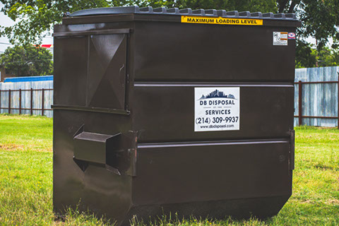 Db Disposal Offers Dumpster Rentals In Dallas Tx